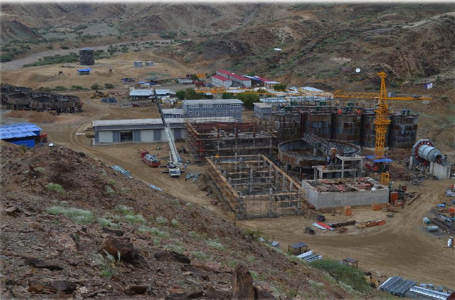 Koka Mine construction site