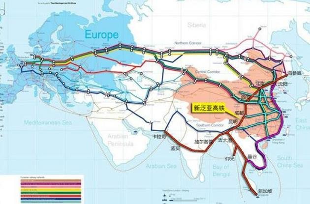 Rick Mills - How to profit from the demands - area Europe and China featured - map
