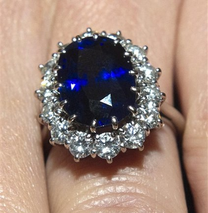 this is the recently found largest blue star sapphire ever and it s