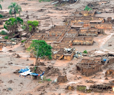 Samarco top executives take leave two months after Brazil dam burst