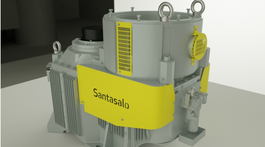 Santasalo Launches New Vertical Mounted Gear Units (AMF