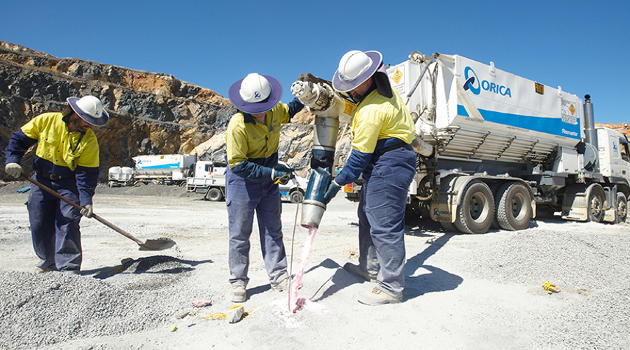 Australia's Orica re-launches Minova