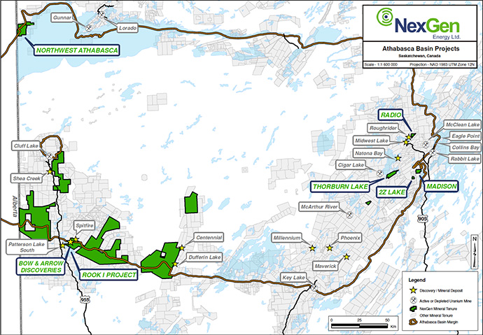 NexGen Energy's Athabasca Projects