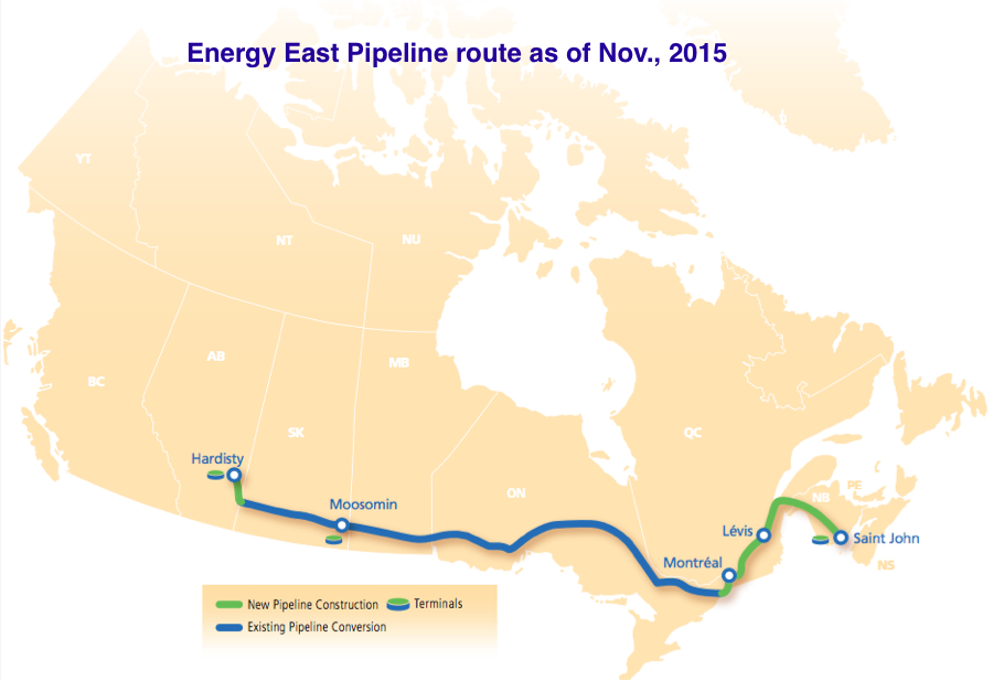 TransCanada's Energy East pipeline faces Quebec injunction
