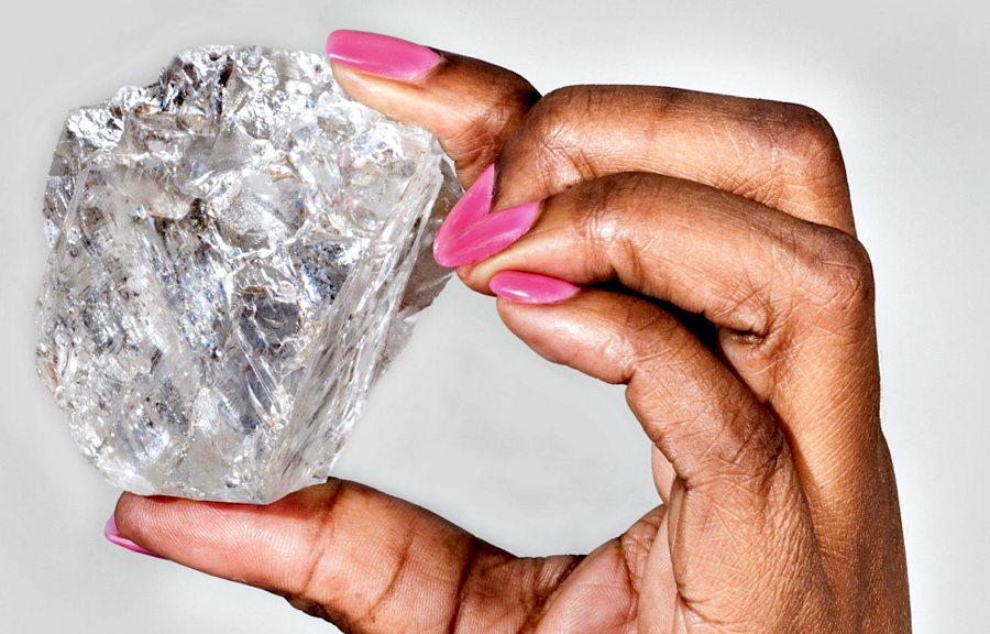 World's second-largest diamond to go under the hammer uncut