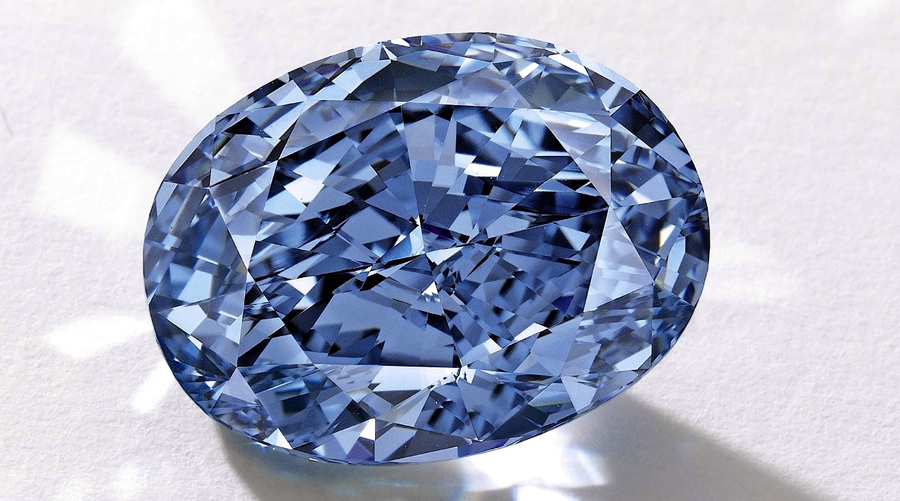 This blue diamond is set to break auction records in Asia