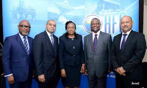 Oliver Andrews, Executive Director & Chief Investment Officer; Andrew Alli, President; Sarah Alade, Chair; Dr. Adesegun Akin-Olugbade, Chief Operating Officer & General Counsel; Sanjeev Gupta, Executive Director Financial Services