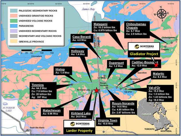 BonTerra Resources delivers its own March madness project map