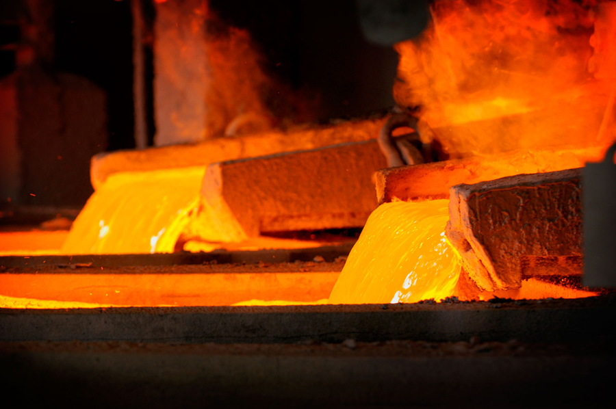 Copper price surges to two-year high