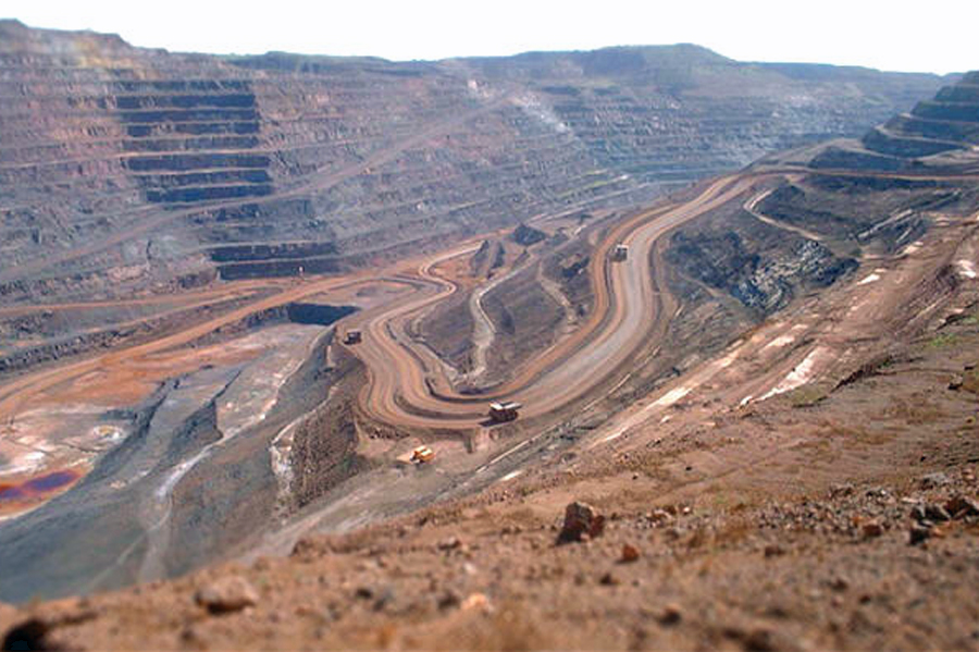 Iron ore price rebounds