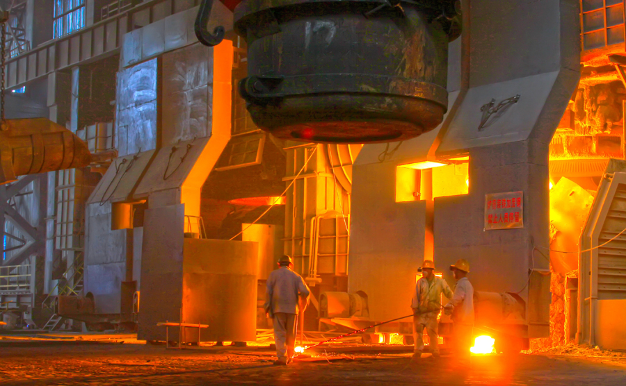 Iron ore price dives on new steel curbs in China