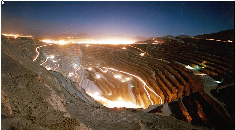 the chilean copper mine The disaster began on a day shift around lunchtime at a mine in chile's atacama desert: miners working deep inside a mountain, excavating for copper, gold.