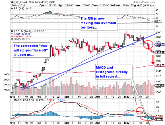 The numbers add up to vindication for a cautious gold bull - Gold - Spot Price 3