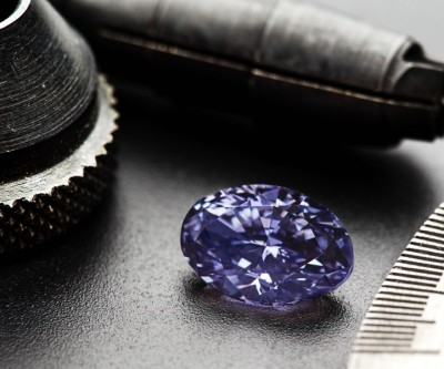 This is the biggest violet diamond Rio Tinto has ever found