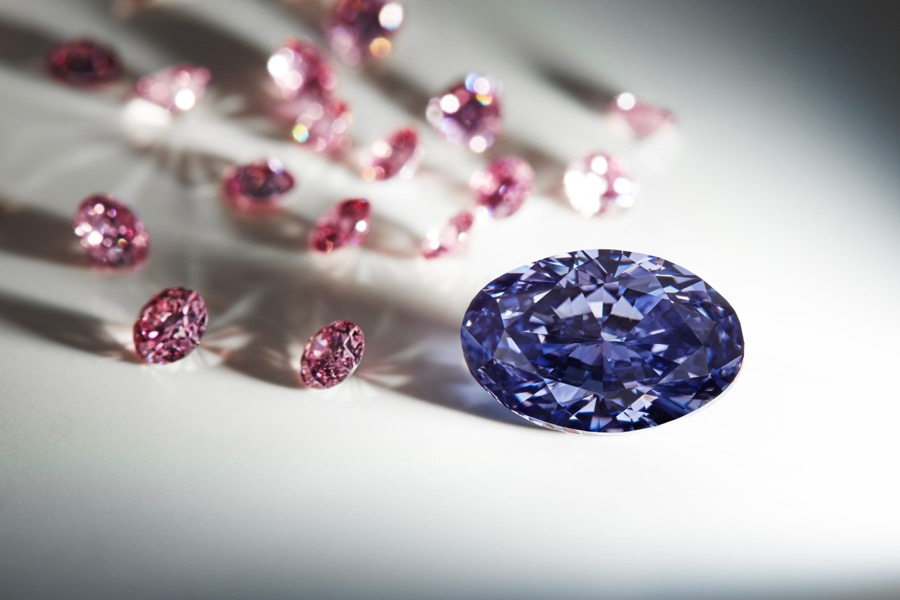 This is the biggest violet diamond Rio Tinto has ever ...