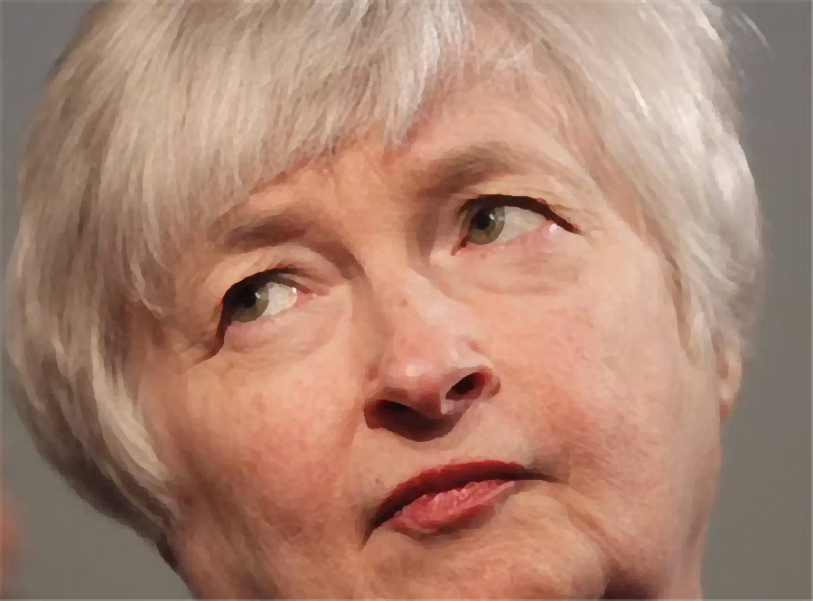 Yellen drops gold price to two-month low