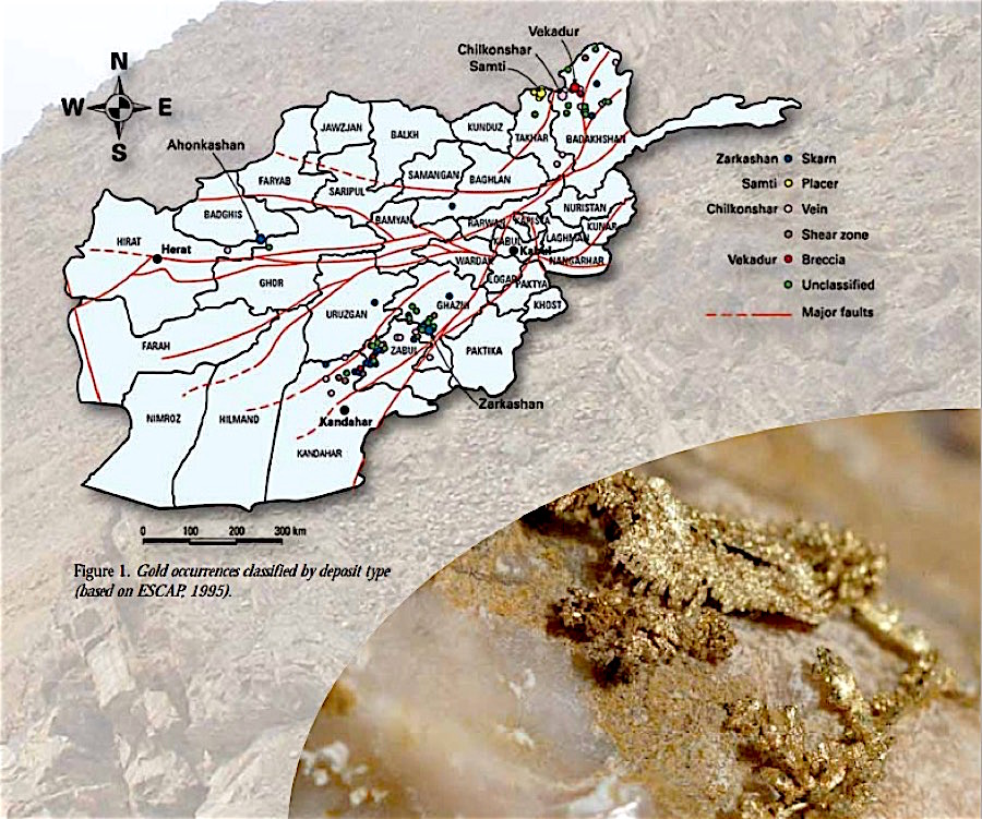 Afghanistan deploys security forces in large illegal mining crackdown