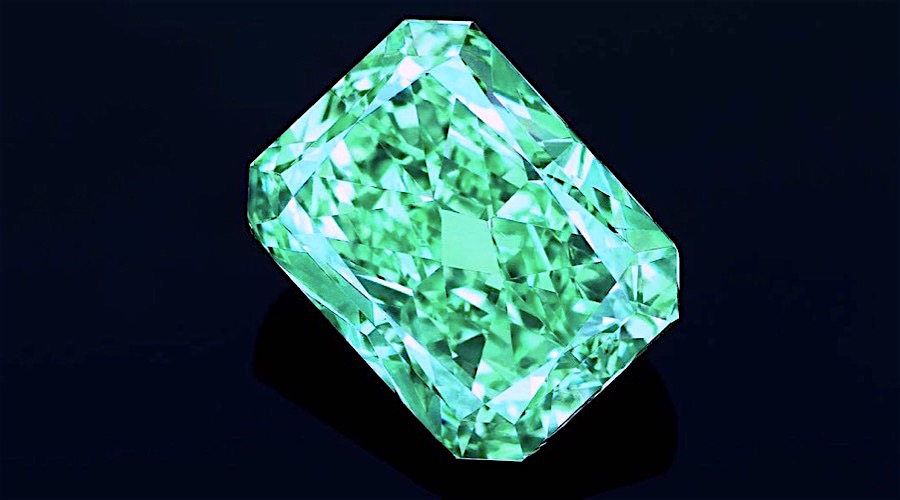 'Aurora Green' diamond smashes records after fetching $16.8 million