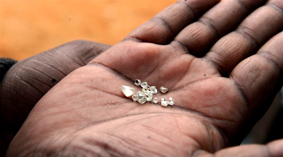 Diamond exports ban lifted from Central African Republic