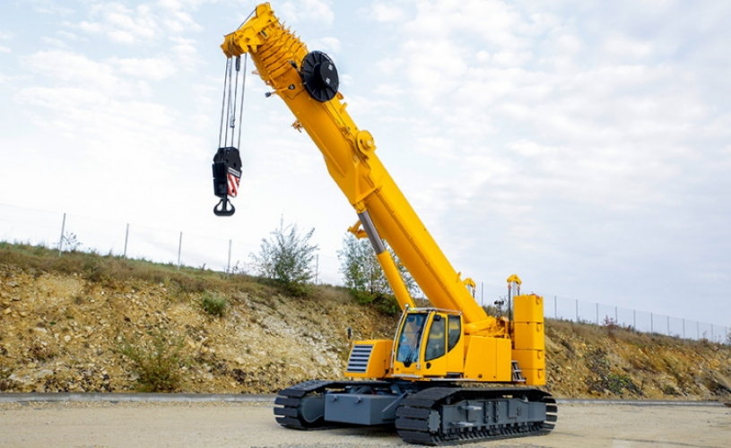 Telescopic Slewing Crane : Experience the progress liebherr presents its latest