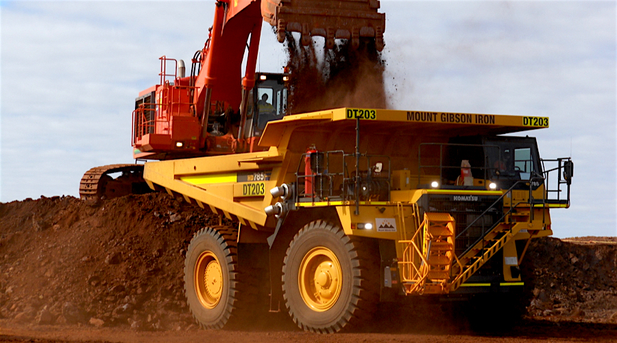 Mount Gibson's new iron ore mine in Australia closer to final approval