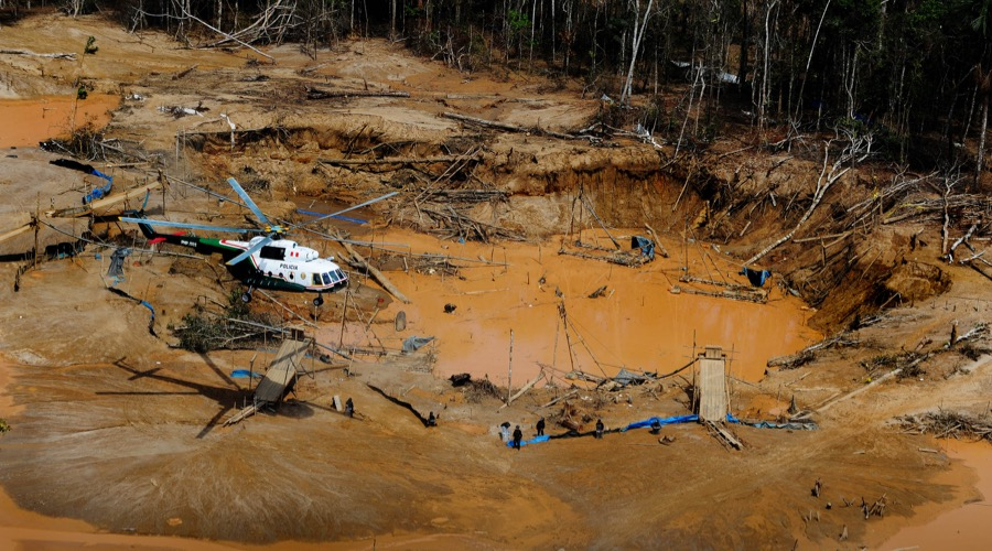 Peru losing its battle against illegal gold mining