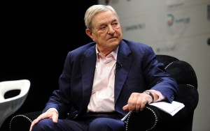 Soros cashes in as Barrick posts best-ever first half rally