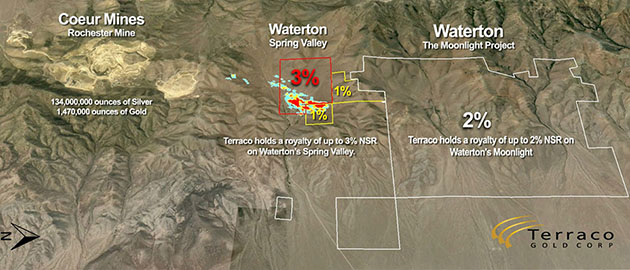 Royalty deal with Waterton should bolster Terraco Gold - map