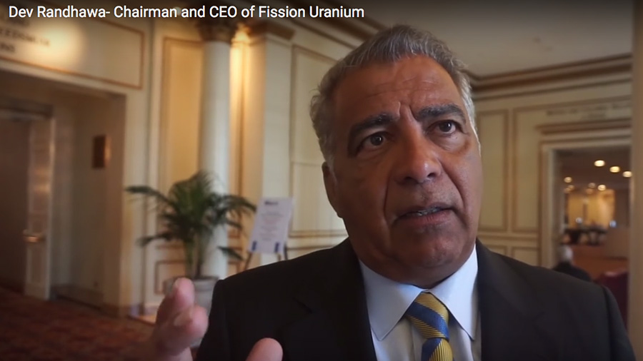 Dev Randhawa, Chairman and CEO of Fission Uranium, advises peope to fearlessly invest in uranium.