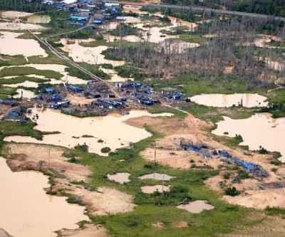 Peru to penalize illegal gold mining with up to 12 years in prison