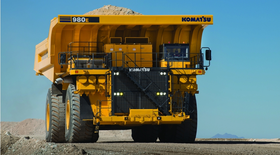 Komatsu Introduces The 980e 4 Mining Haul Truck