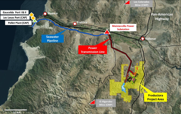 Hot Chile's Productora Project Map