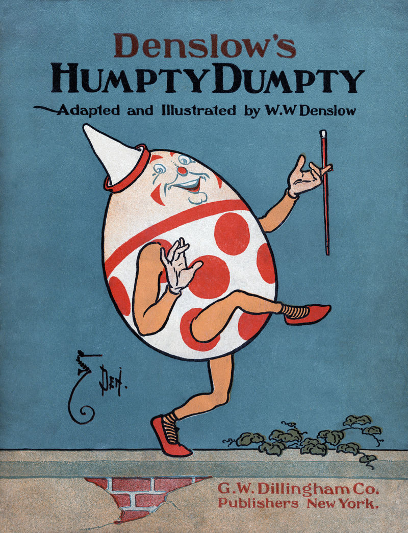 (Humpty Dumpty in the shell, Source: William Wallace Denslow)