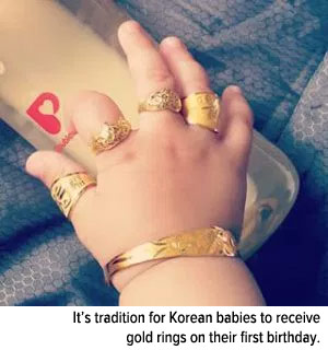 tradition-korean-babies-receive-gold-rings-first-birthday