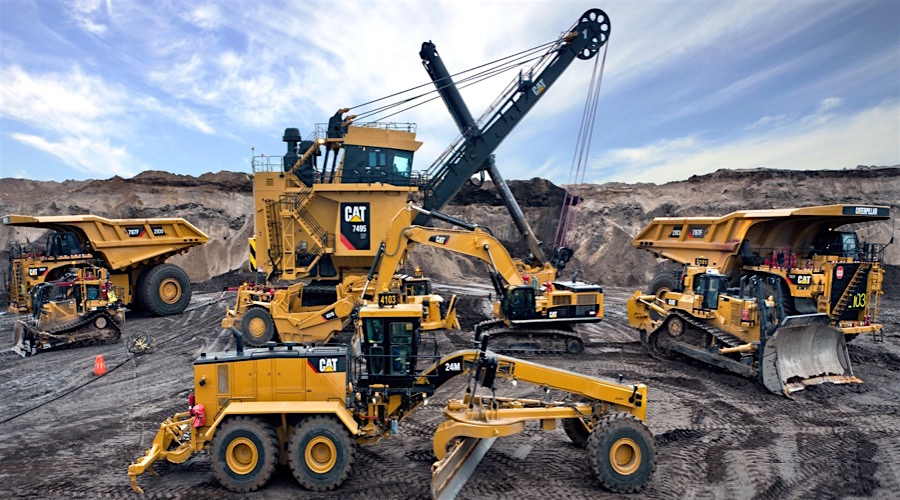 Caterpillar sees green shoots in mining, but sales far from picking up