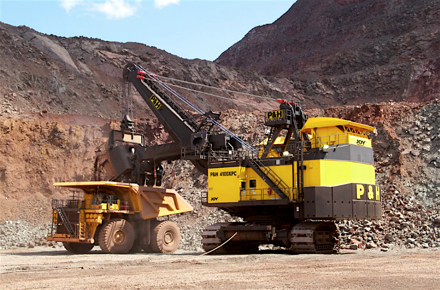 Joy Global misses expectations on weak mining equipment sales