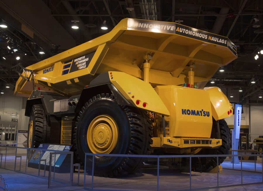 Komatsu Launches Innovative Autonomous Haulage Vehicle At
