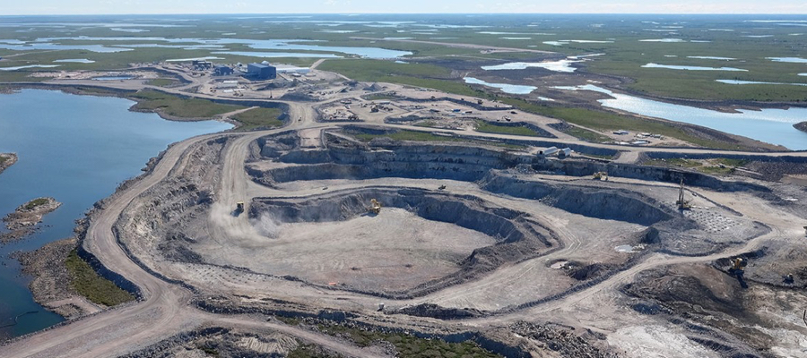 World's largest, newest diamond mine is now open