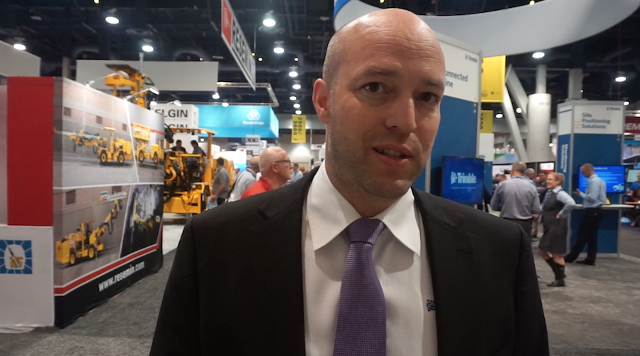 Nathan Pugh, Business Area Director Mining Solutions, Trimble Navigation.