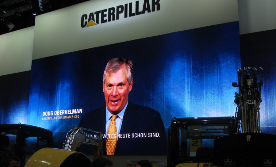 Caterpillar CEO Oberhelman to step down in March