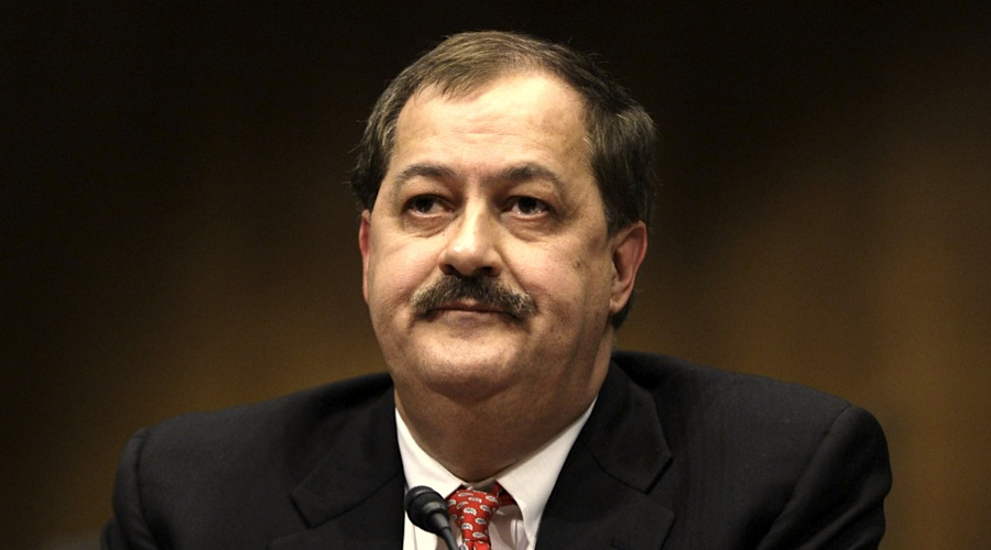 Ex-Massey Energy CEO Blankenship claims being a 'political prisoner'