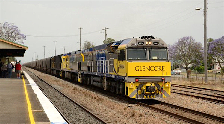 Glencore sells sell Australia coal rail unit for $874 million
