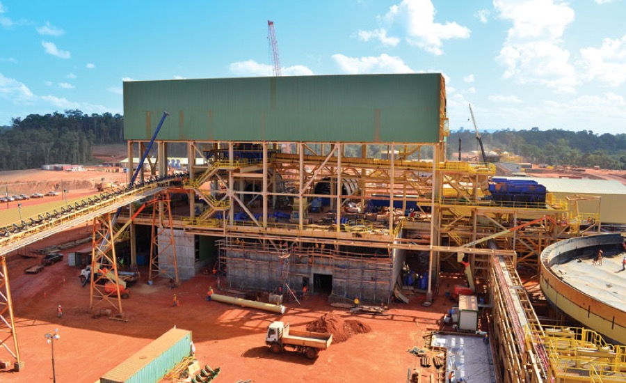Newmont begins production at its Suriname gold mine
