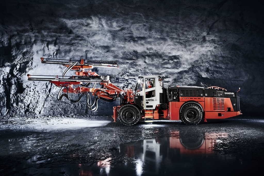 Sandvik expects bigger market for battery-driven mining gear in 2-3 years
