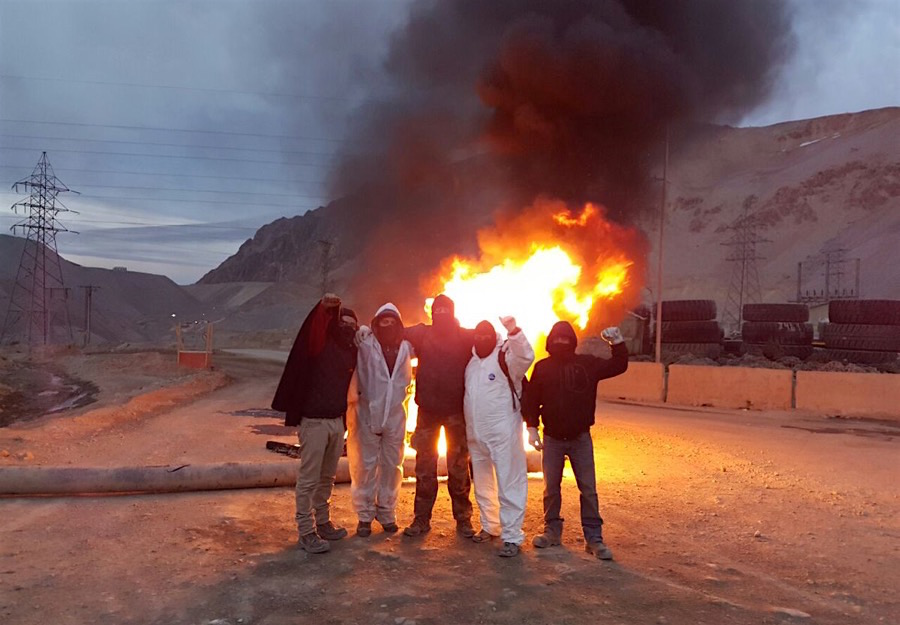 Anglo's Los Bronces copper mine in Chile seized by protesters