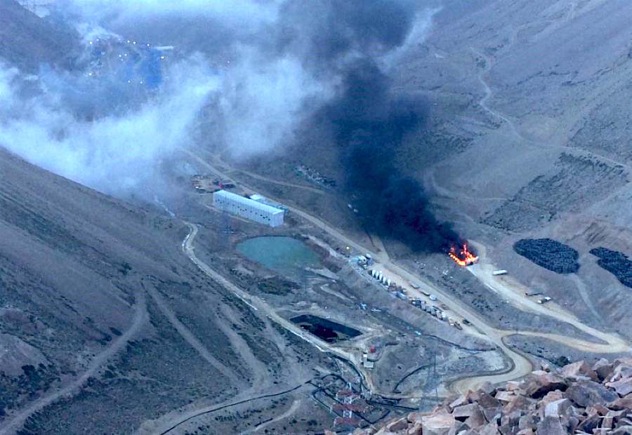 Anglo's Los Bronces copper mine in Chile to remain shut until safe to resume work