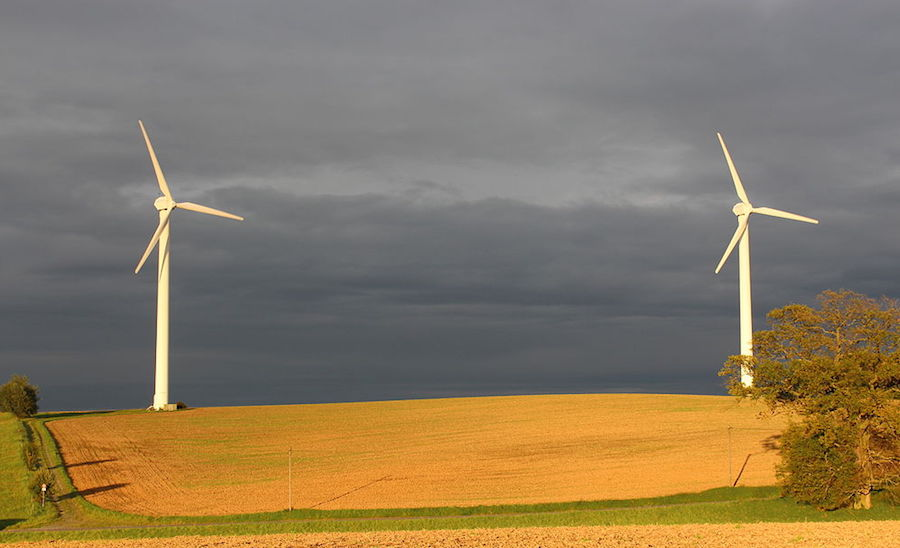 Wind turbines are among the uses of dysprosium, a heavy rare earth element that Northern Minerals hopes to mine in Western Australia. Image by Alexander Blecher.