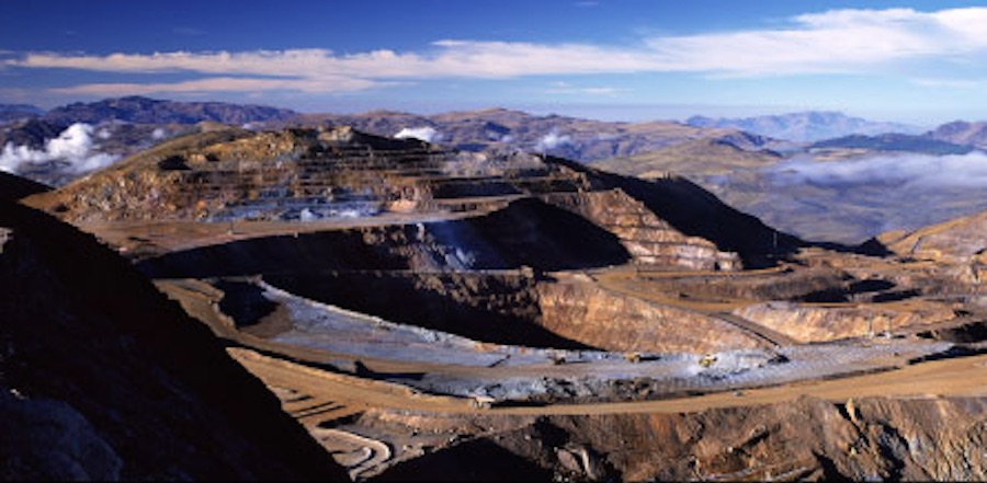 Newmont's Yanacocha mine in Peru is South America's largest. Image courtesy of Newmont Mining.