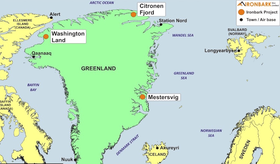 Tiny Australian junior gets permit for Greenland's first large new