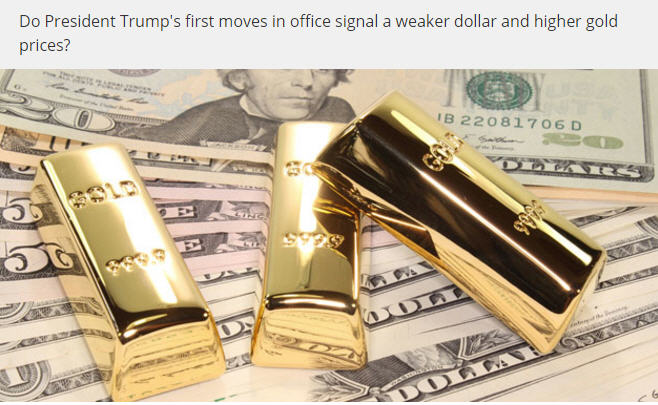 Does gold trump the dollar